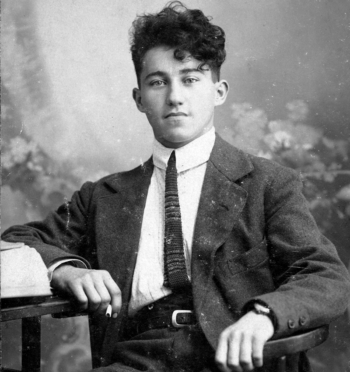 Adolf Dassler as a young man